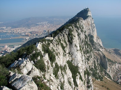 The Rock of Gibraltar Gibraltar  Gibraltar