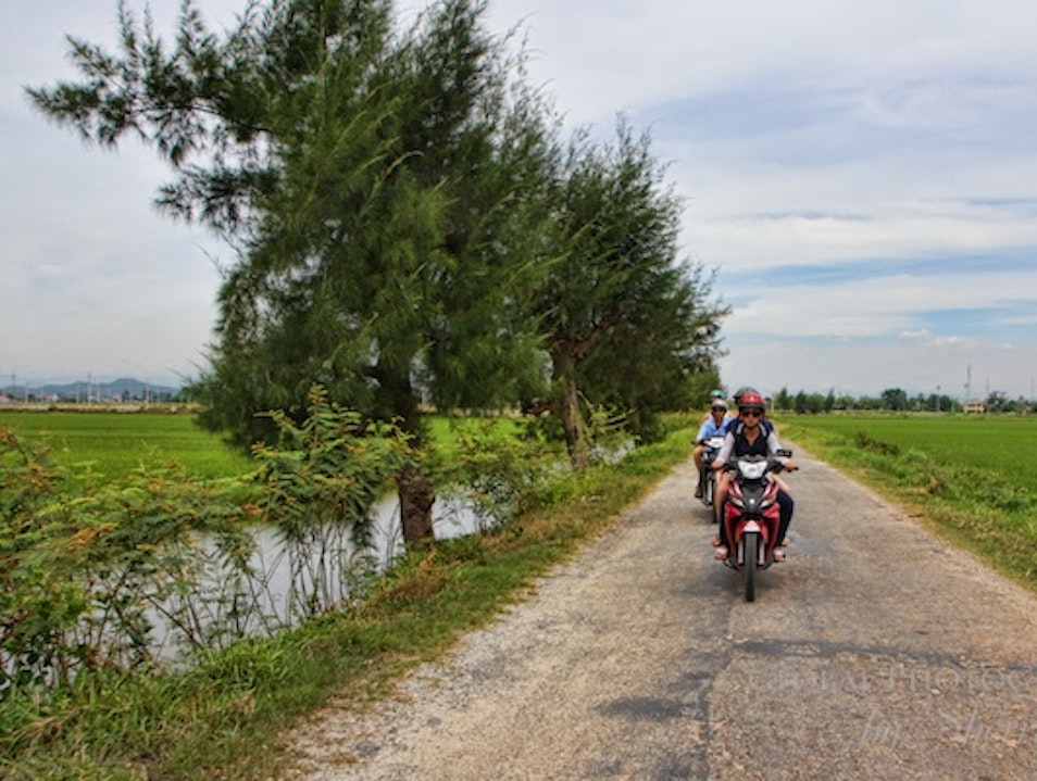See the Countryside By Motorbike Hue City  Vietnam