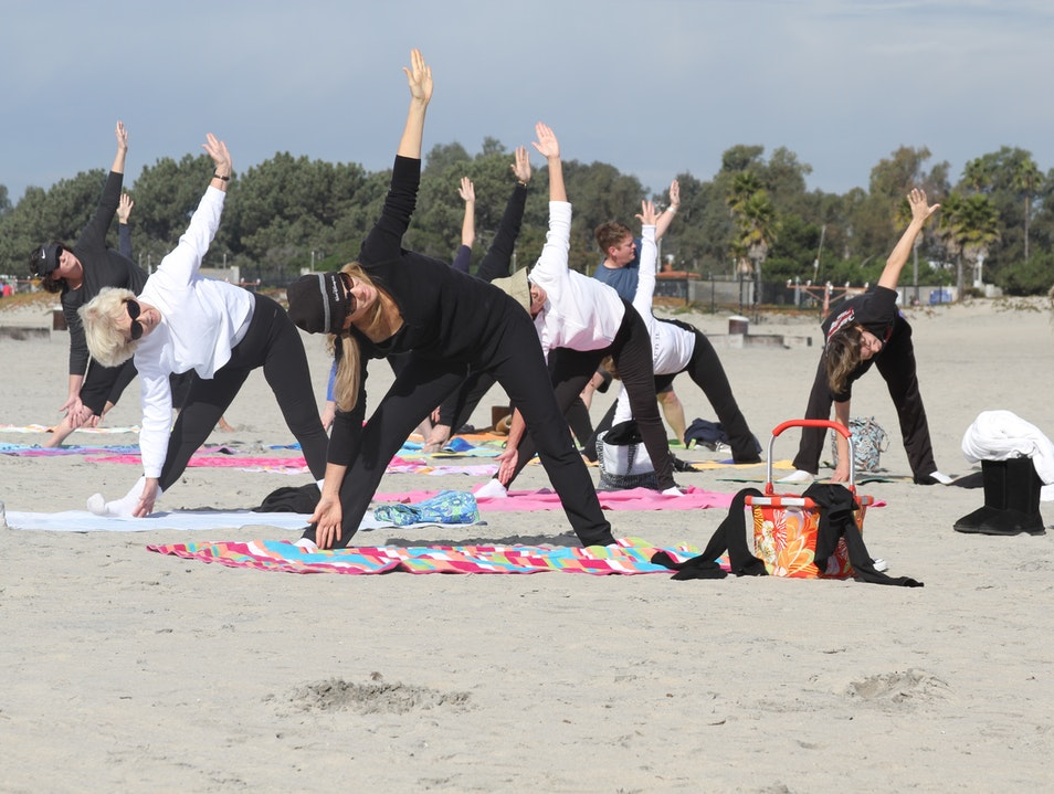 Yoga on the Beach Coronado California United States