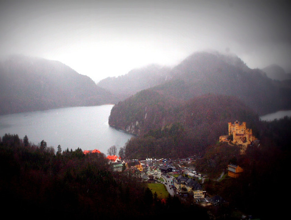 Hohenschwangau - Mad King Ludwig's first home