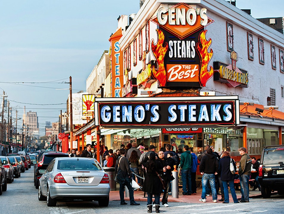 Philly Cheesesteaks Philadelphia Pennsylvania United States