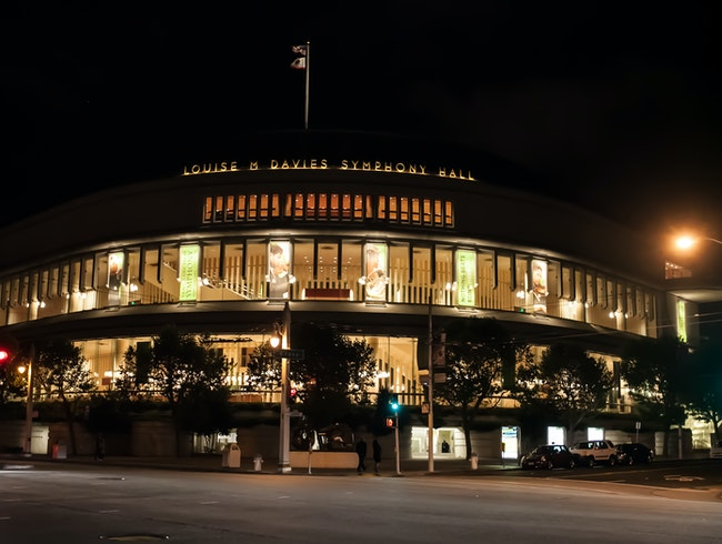 Watch the San Francisco Symphony at Louise M. Davies Symphony Hall