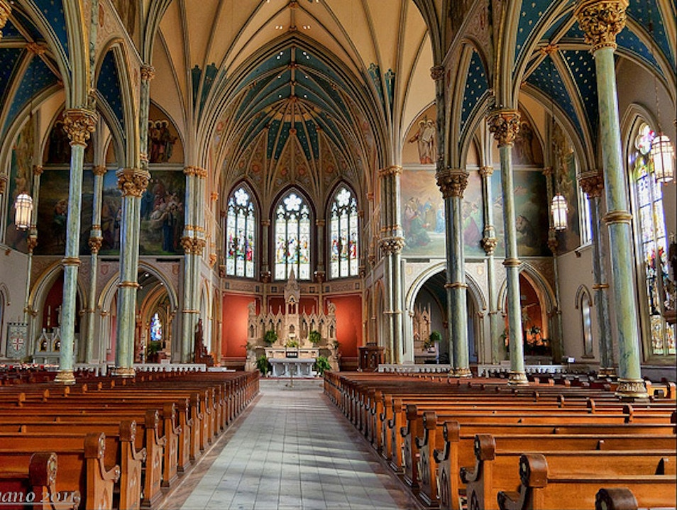 Visit The Cathedral of Saint John the Baptist Savannah Georgia United States