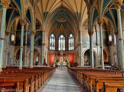 The Cathedral of Saint John the Baptist Savannah Georgia United States