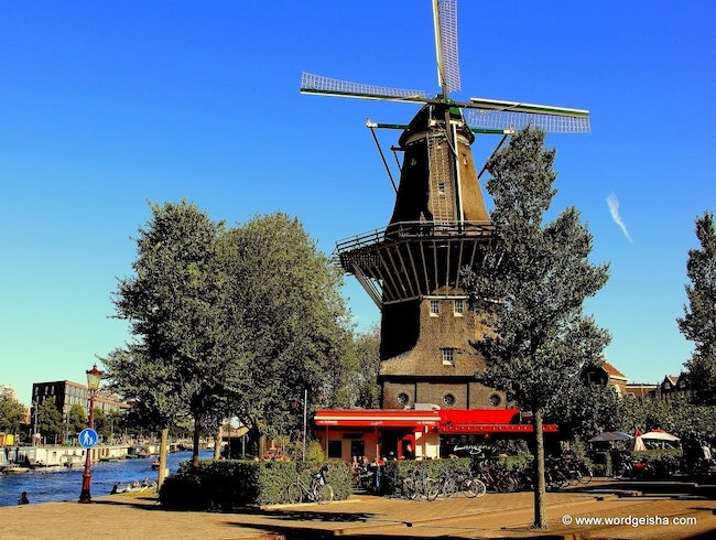 A Brewery at An Urban Windmill
