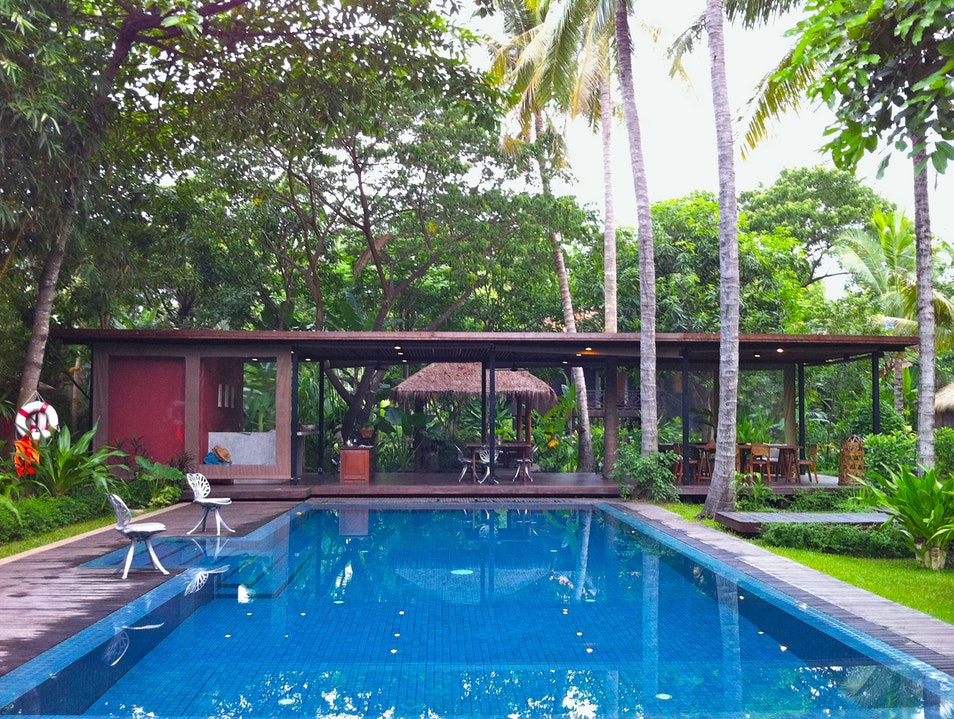 Settle into a secret garden retreat Siem Reap  Cambodia