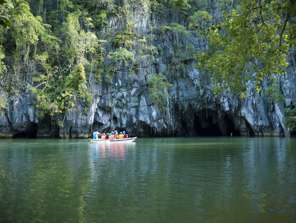 Puerto Princesa Underground River—One of the New7Wonders of Nature