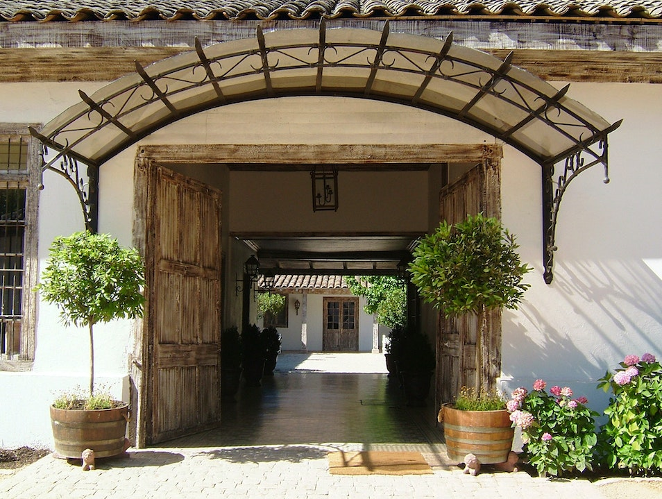 Hotel Casa Silva: An Inn in a Vineyard San Fernando  Chile