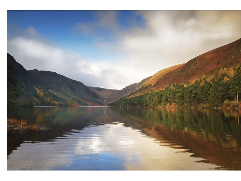 The Lake at Glendalough Wicklow  Ireland