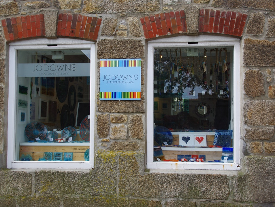 Handmade Glassware and Great Gifts, St Ives, Cornwall