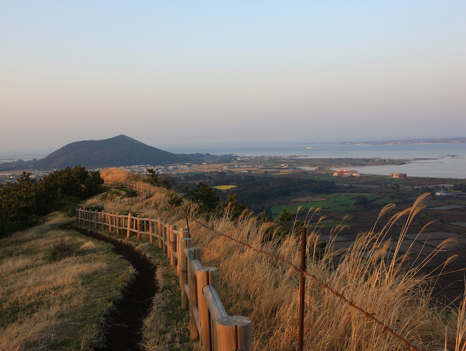 Discovering Korea's Island Getaway on Foot Jeju Si  South Korea