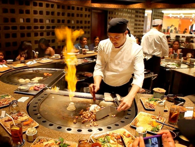Teppanyaki Lunch Special at Joinus