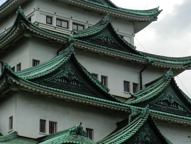 Golden Dolphin on Nagoya Castle