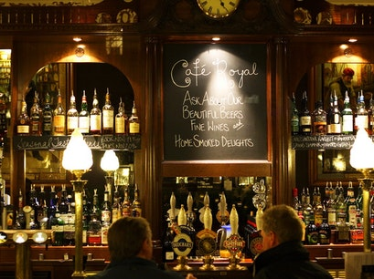 Café Royal Oyster Bar Edinburgh  United Kingdom