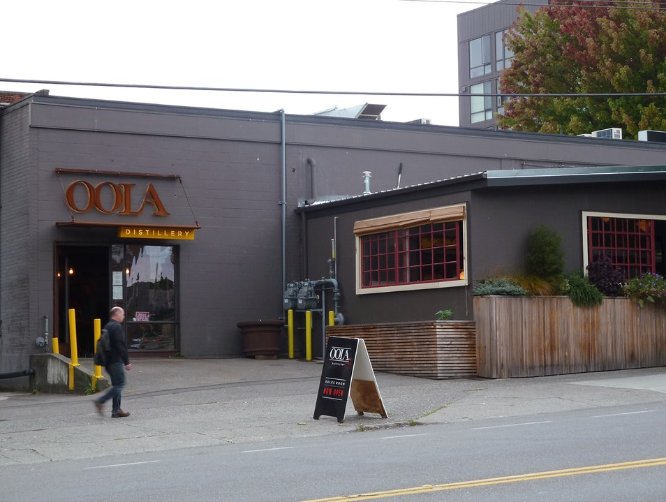 Locally Made Liquor, Oola La! Seattle Washington United States