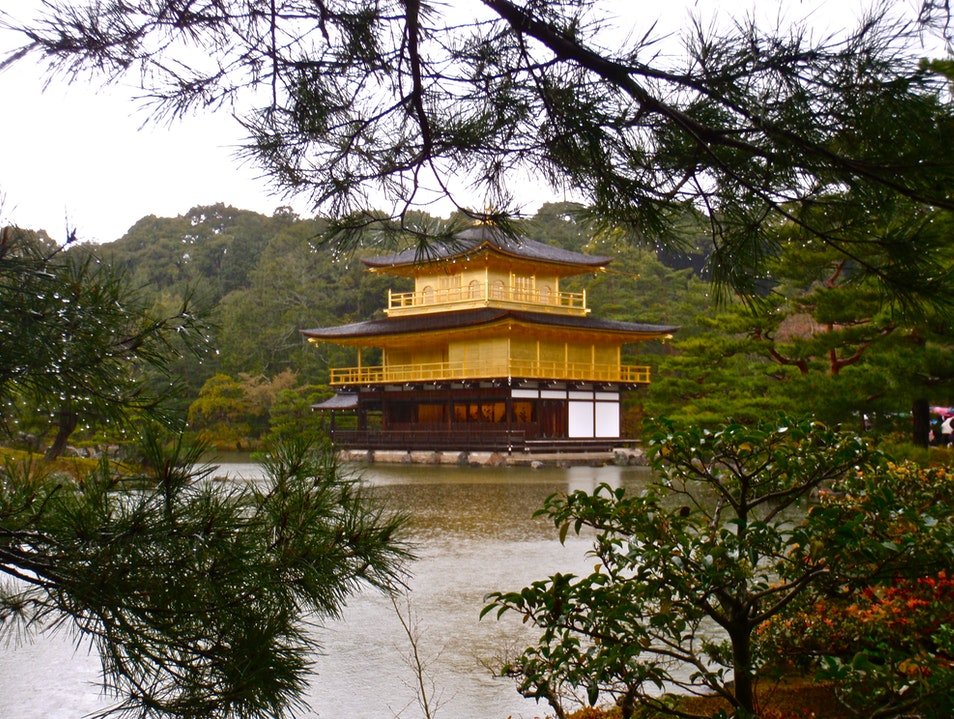 The Golden Pavilion Kyoto  Japan