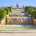 Magic Fountain of Montjuïc Barcelona  Spain