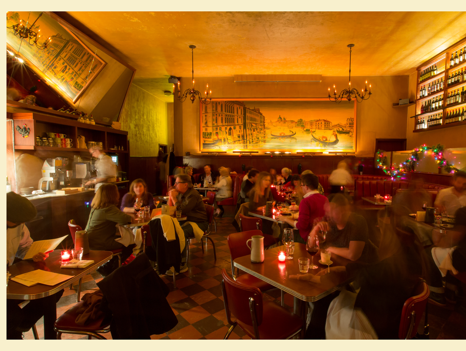 Dine at San Francisco's Classic Tosca Cafe