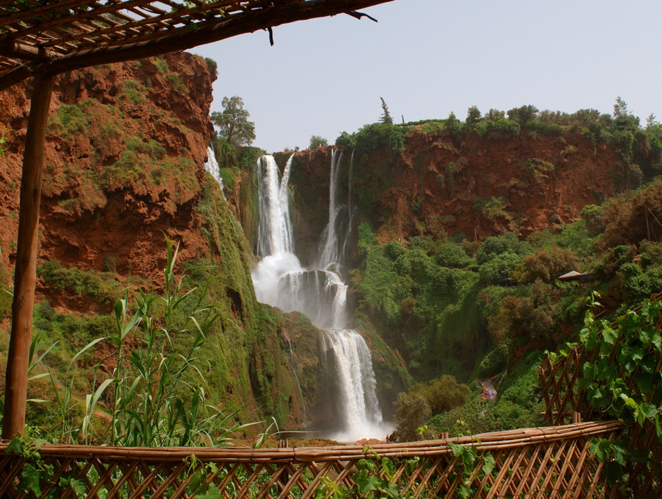 Experience Moroccan nature Ouzoud Falls  Morocco