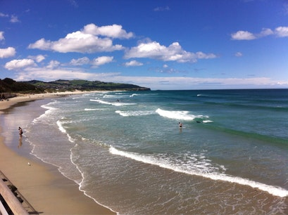 St Clair Beach  Dunedin  New Zealand