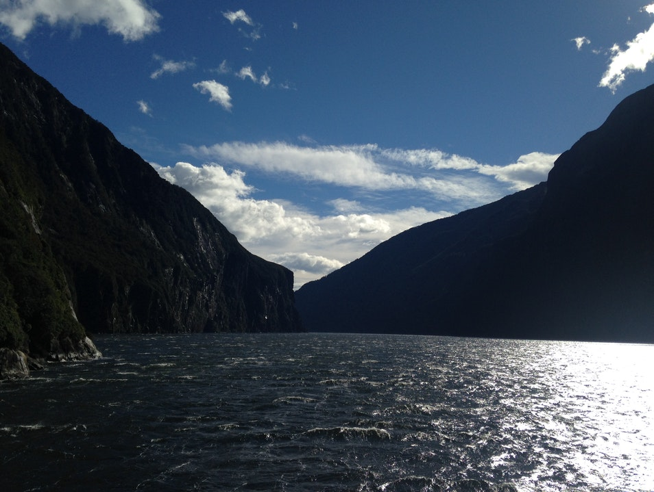 Easy candidate for dramatic cruise (but not the winner) Milford Sound  New Zealand