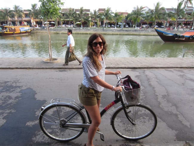Biking like a Brooklynite in Vietnam
