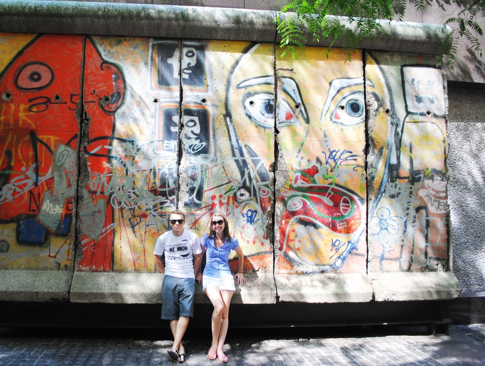 Berlin Wall in NYC New York New York United States