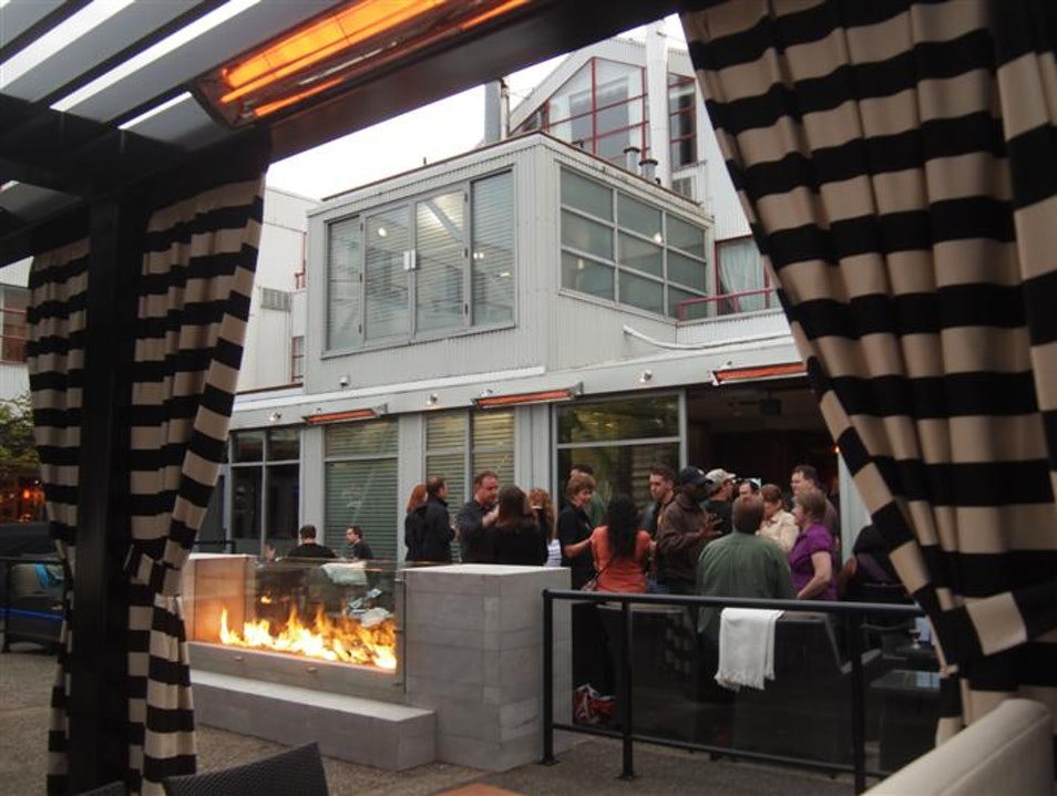 Dockside: A Brewery with a Patio to match!  Vancouver  Canada