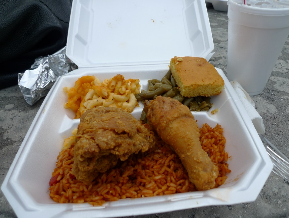 Best Meal in the South, Masada Cafe at the United House of Prayer for All People Savannah Georgia United States