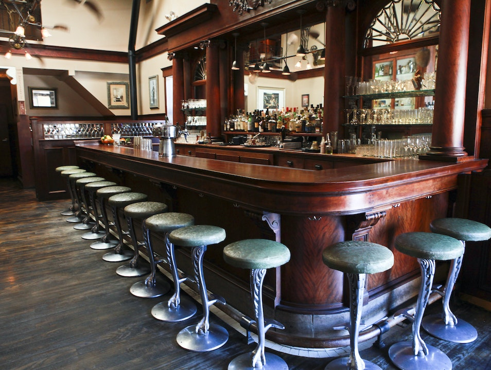 Enjoy an Updated Turn-of-the-Century Cocktail at Comstock Saloon San Francisco California United States