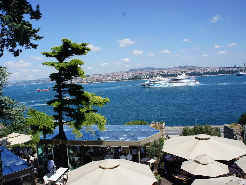 A Royal View of the Golden Horn Istanbul  Turkey