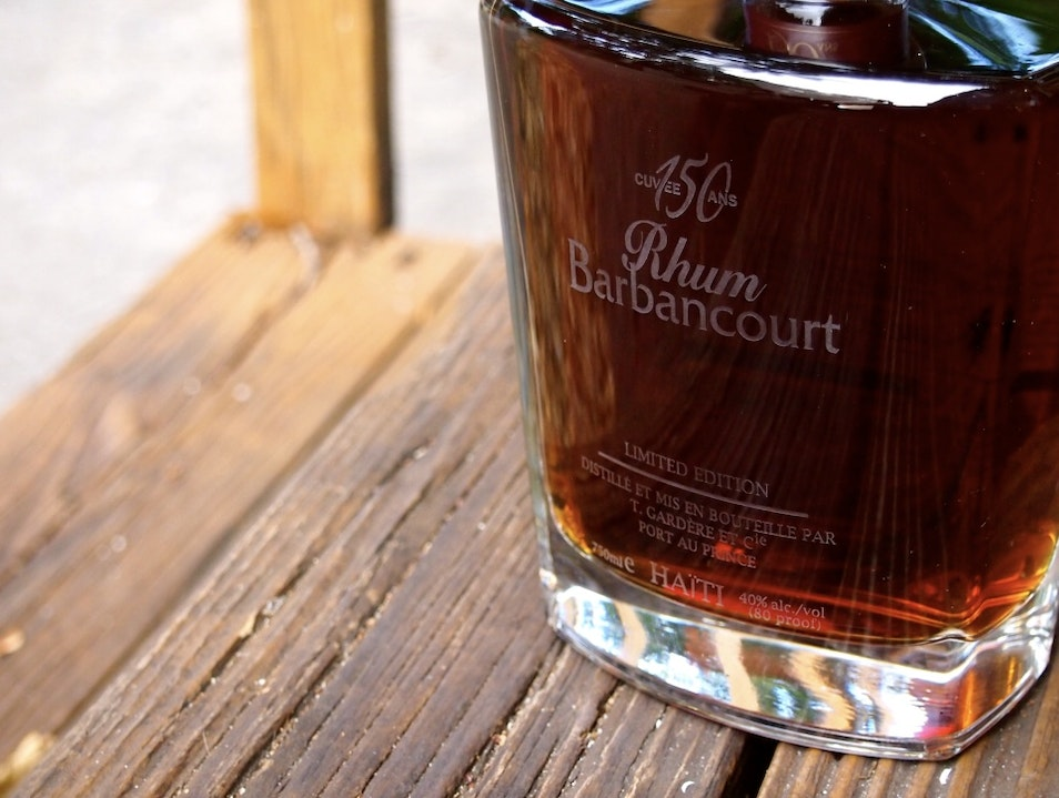 A Wish For Tippy-Top Shelf Rhum Barbancourt Turgeau  Haiti
