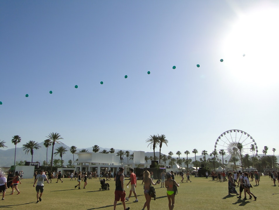 California's Coachella Music Festival Canvas Indio California United States