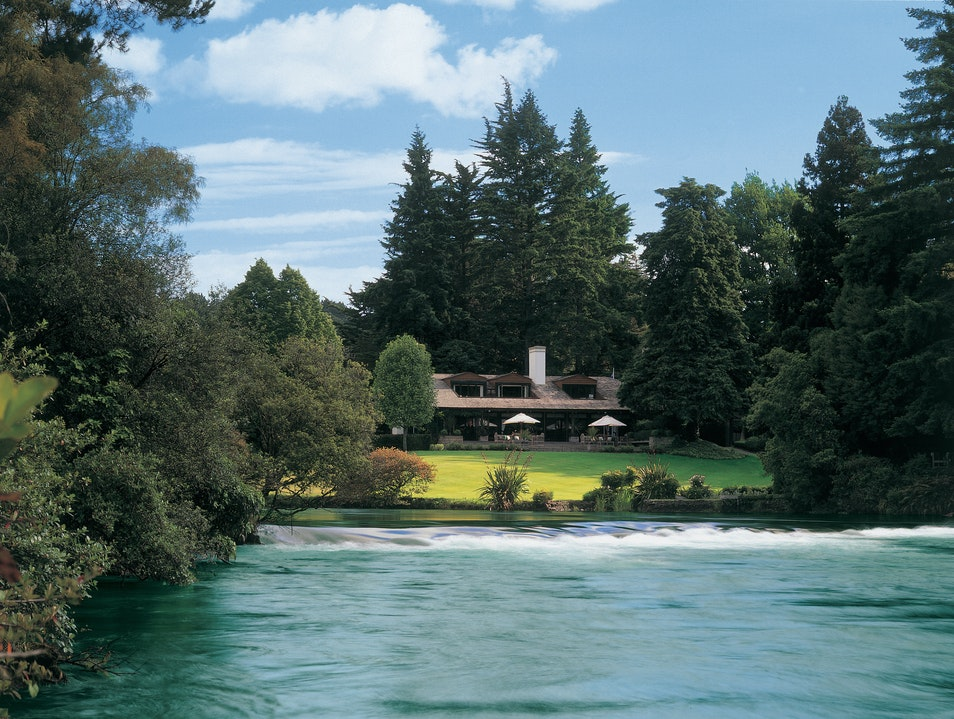 Huka Lodge Taupo  New Zealand