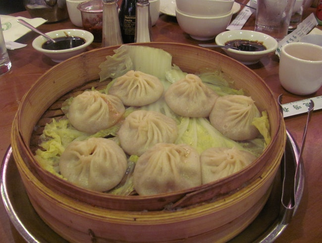 Soup Dumplings in NYC's Chinatown