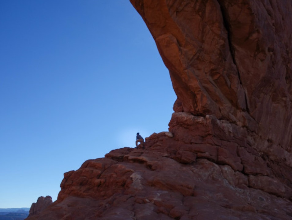 Ancient Rome or Arches National Park? Moab Utah United States