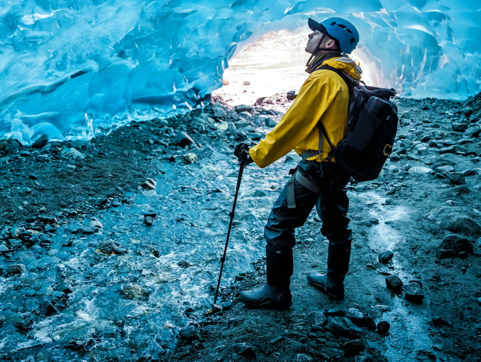 Visit the Mendenhall Ice Caves