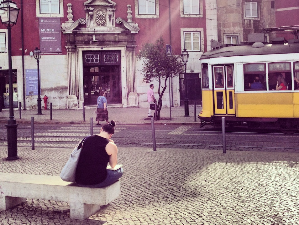 A trip back in time Lisboa  Portugal