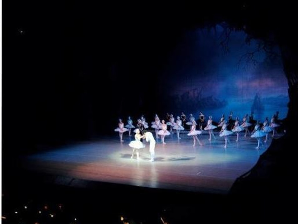Swan Lake - all that it's hyped up to be St. Petersburg  Russia