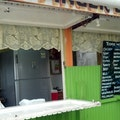 Food Truck at Grafton Road Buccoo  Trinidad and Tobago