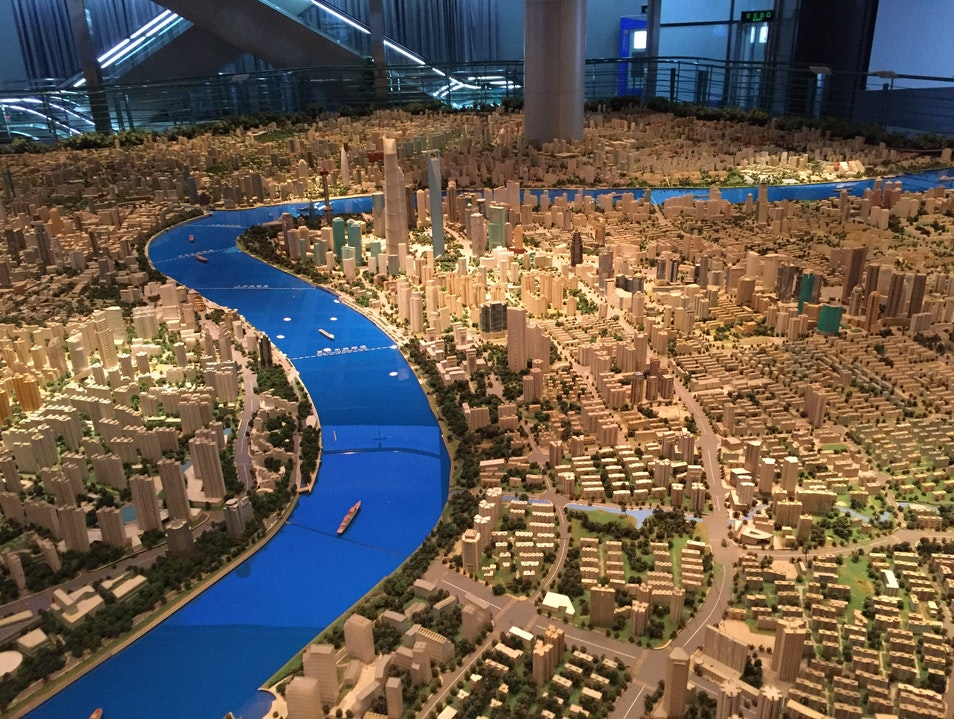 Shanghai Urban Planning Exhibition Centre