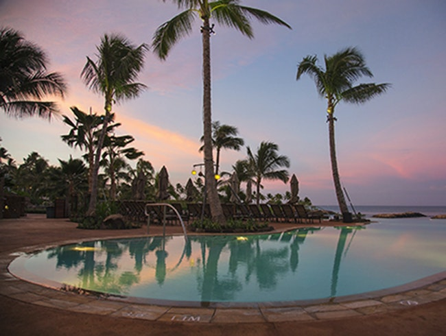 The Infinity Pool at Aulani