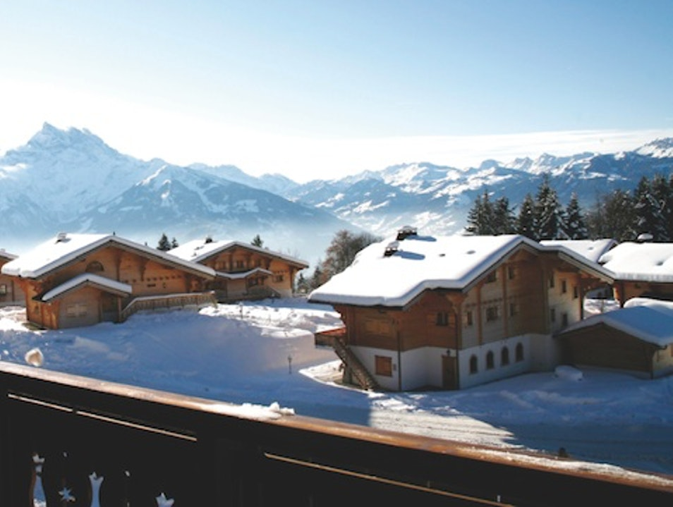 Timber Lodges: Chalet RoyAlp, Vaud, Switzerland Ollon  Switzerland