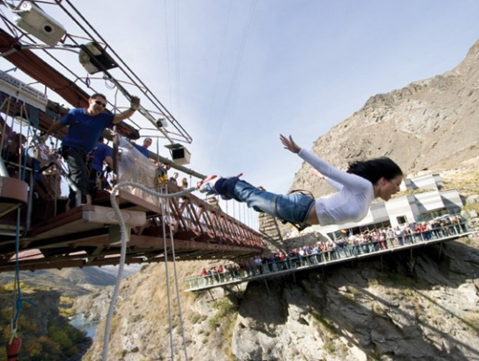 Kawarau, New Zealand: Birthplace of Bungy