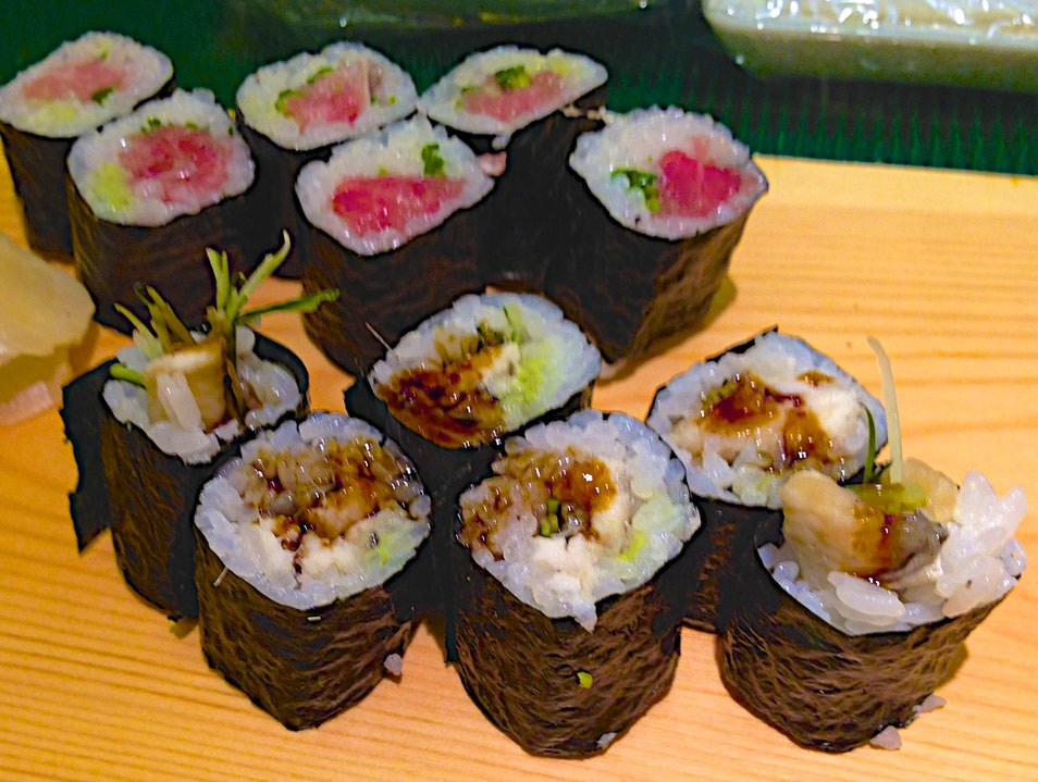Sushi At Tsukiji Chūō Ku  Japan