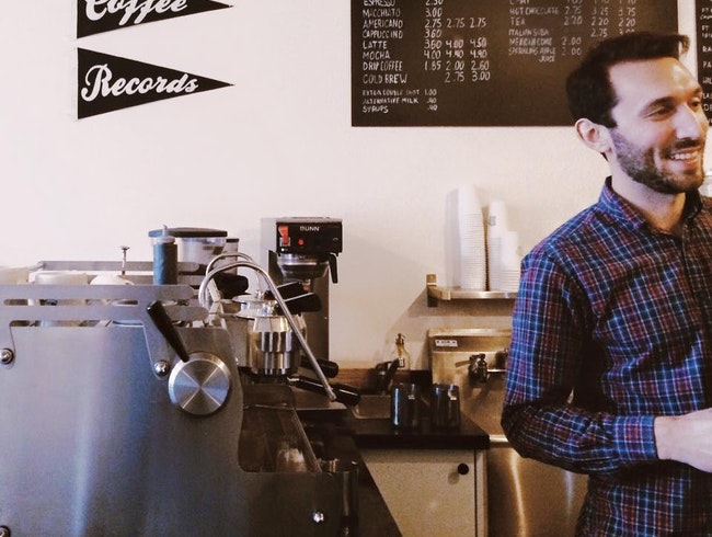 Spin Vinyl and Sip Coffee at Seattle's Porchlight