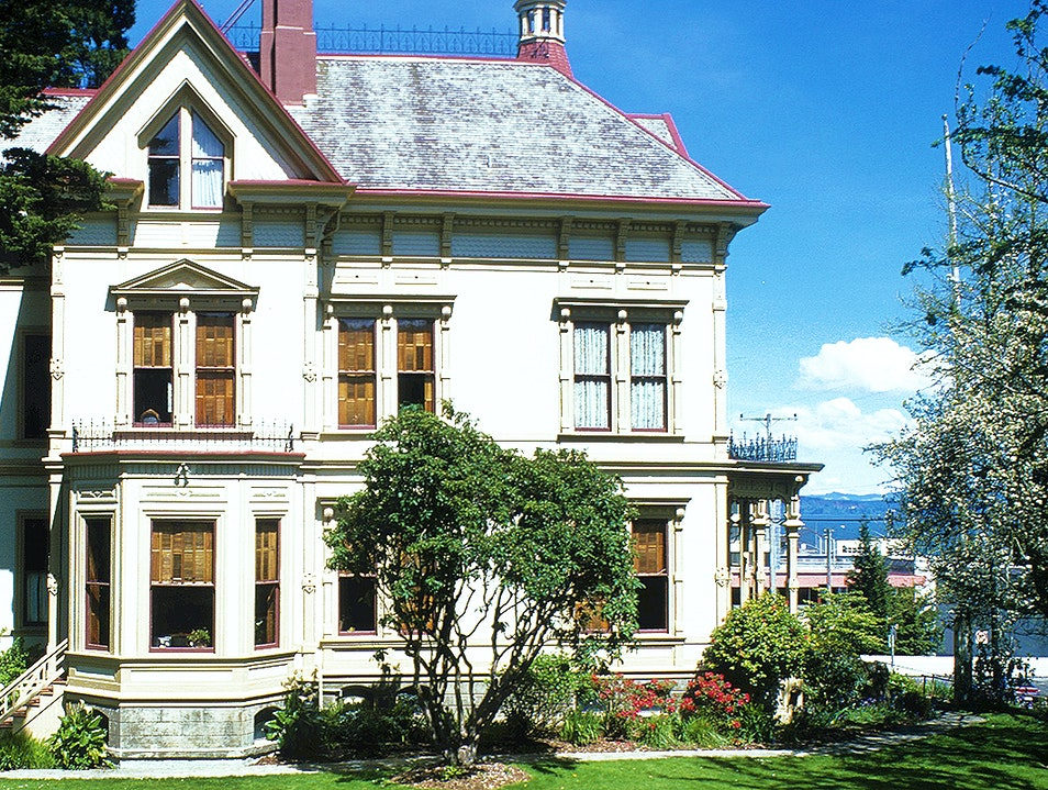 Flavel House Museum Astoria Oregon United States