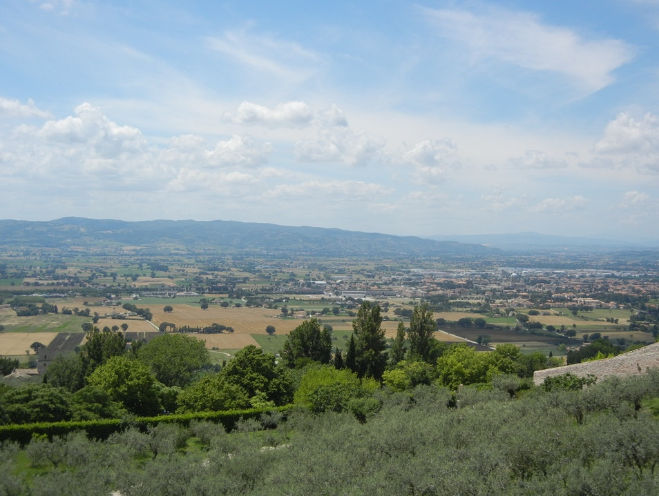 Tuscan Landscape Assisi  Italy