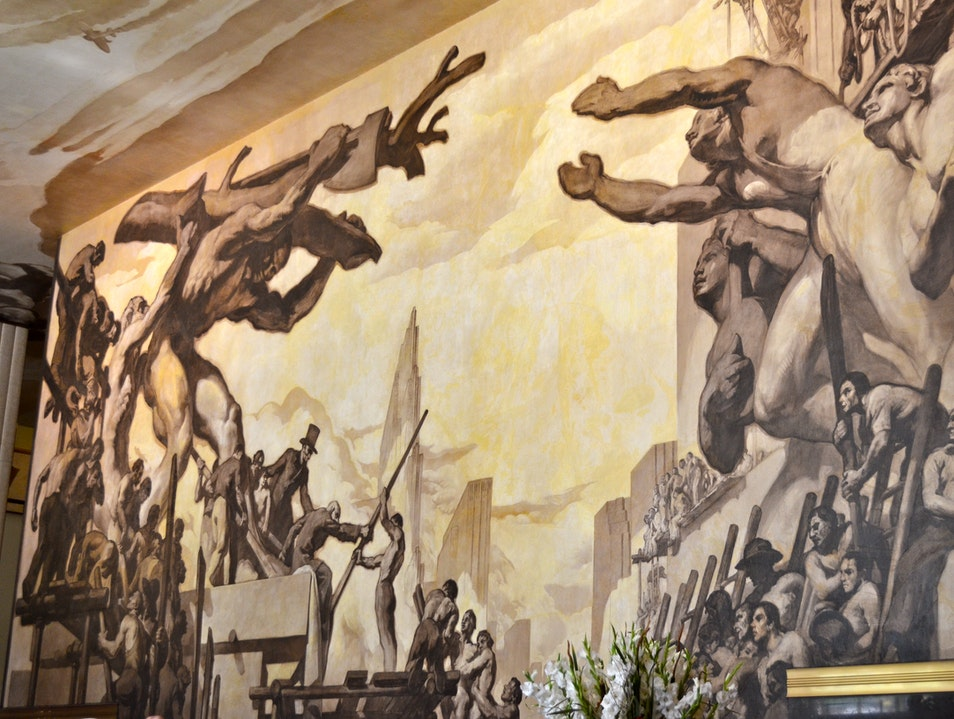 The History of the 30 Rock Murals: Josep Maria Sert et al.