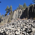 Devil's Postpile National Monument Devils Postpile National Monument California United States